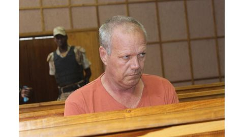 Suspected paedophile makes brief court appearance