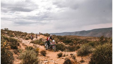 Honda Quest Adventure is out of the starting blocks