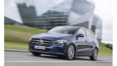 The new Mercedes-Benz B200 and B200d