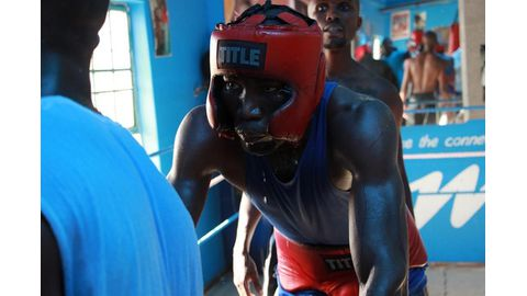 The Executioner readies for Ghana