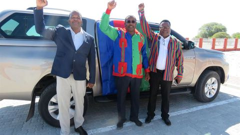 Swapo registers its candidate