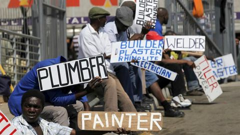 A million jobs to go in SA