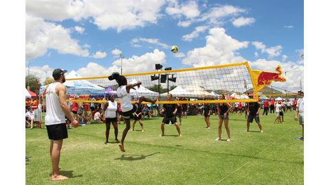 Total Namibia wins Volleyball for All