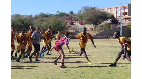 Young sport stars take to the field