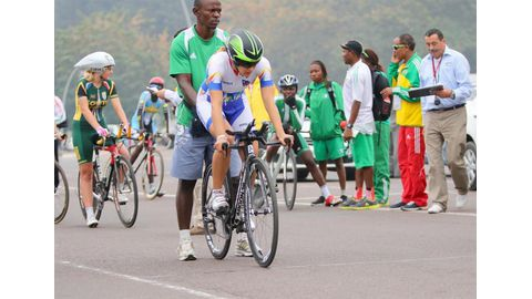 Adrian wins bronze at African Games