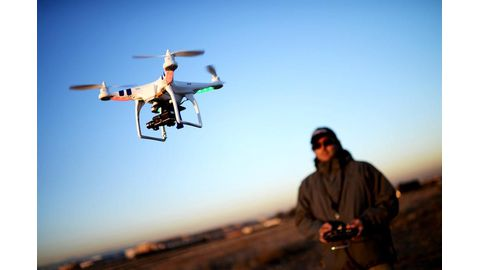 Drone operator counts costs