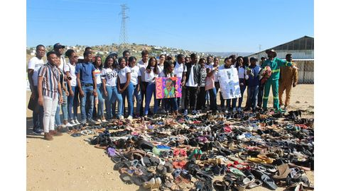 Unam students put best foot forward