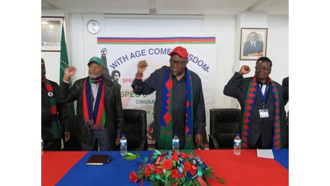 Swapo elders endorse Geingob for party presidency