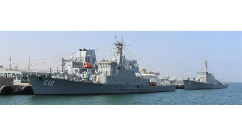 Naval capabilities boosted
