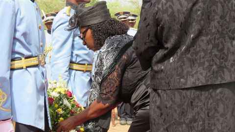 Honour heroes while they're alive - Geingob