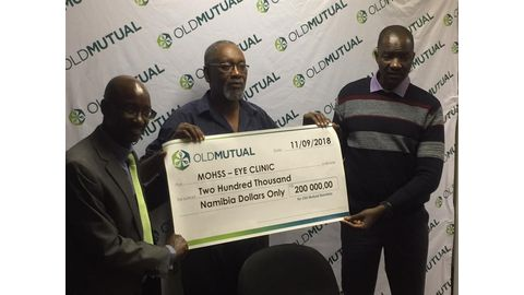 Old Mutual rescues eye clinic