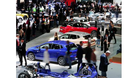 China rises at Frankfurt car show