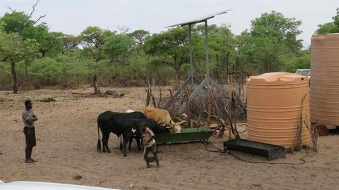 Namibians dread worsening droughts