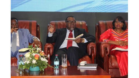Hage growls at traditional leaders