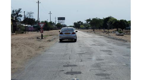 Motorists fed up with Rundu's streets