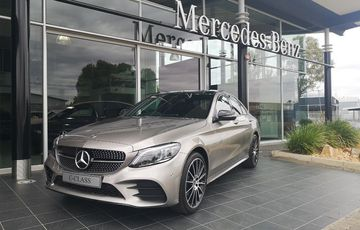 Brand New Mercedes-Benz C180 AMG Line with Price Advantage