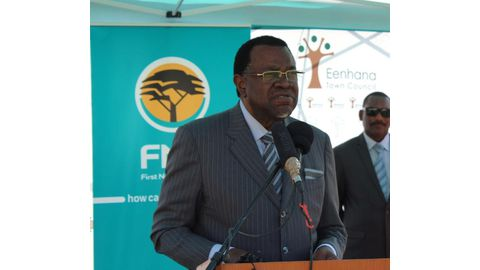 Wrong moves on land could destroy us – Geingob