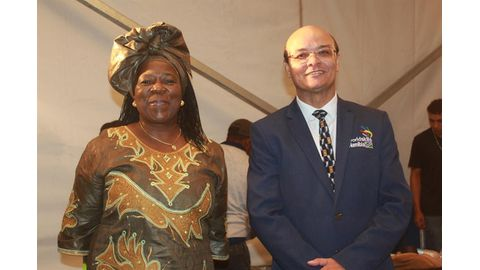 Namibians show their mettle