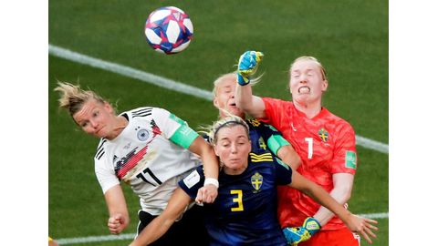 Sweden inch closer to World Cup glory