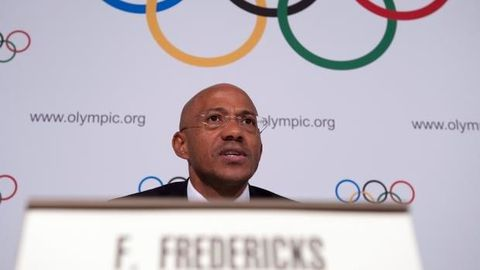World athletics suspends Fredericks