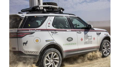 Goodyear and Land Rover conquer Peru