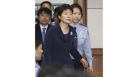 Ousted S. Korean leader goes on trial