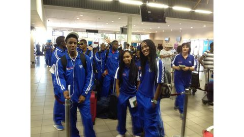 Under-20 team departs for Angola