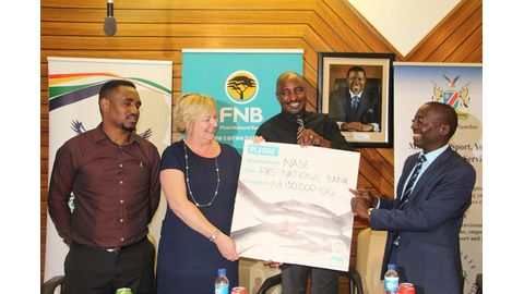 FNB boost for sport expo