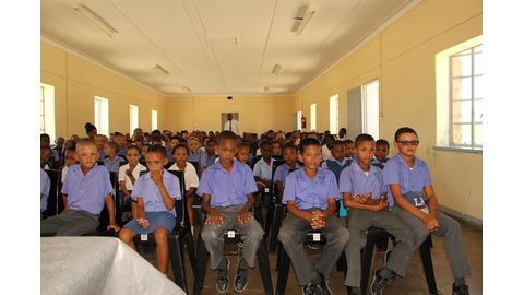 DBN donates chairs to primary school