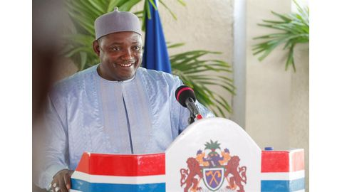 Key Gambia ministers sworn in