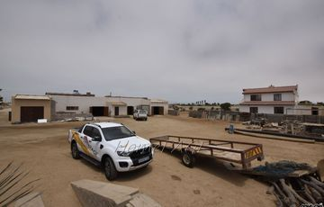 Light Industrial, Henties Bay: Industrial Property with Workshop and Home and is for Sale