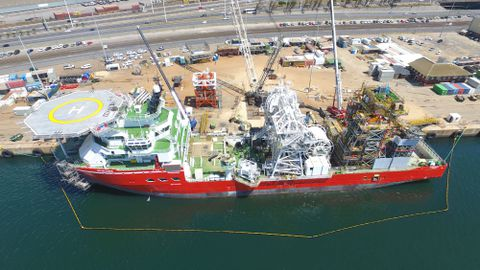 SS Nujoma sea trials commence