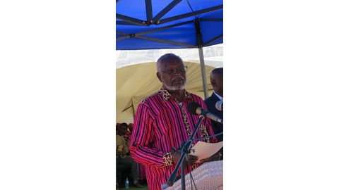 Nujoma enters Ondonga fray