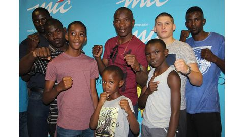 Taking boxing to the masses