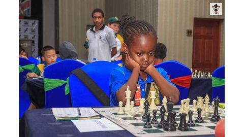 Ottile rises in chess world