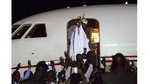 Jammeh leaves power after 22 years