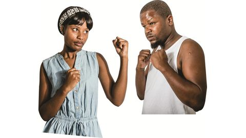 Battle of the sexes in the ring