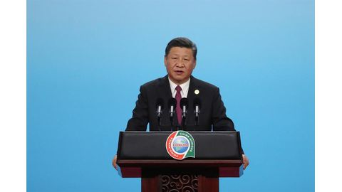 China's Xi says no strings attached to funds for Africa
