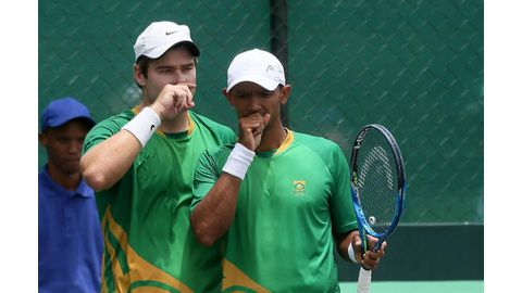 Doubles win gives SA lead in Davis Cup tie
