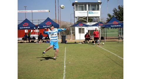 Fistball takes centre stage