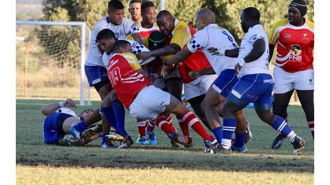 Unam rugby team marches on