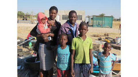 Family of seven evicted from their home
