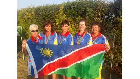 Namibian bowlers win medals