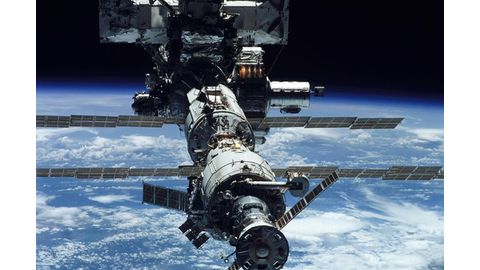 Tyre material testing in space
