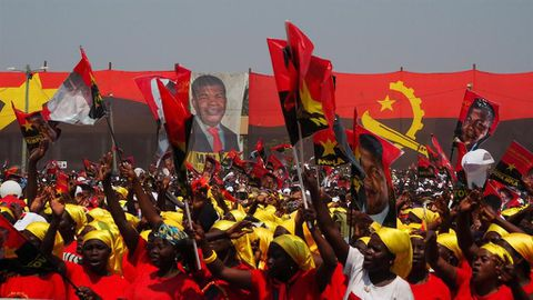 Angola's new president takes surprise steps to rein in Dos Santos
