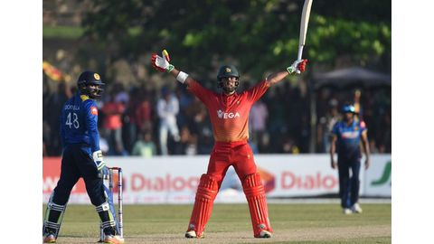 Zimbabwe holds Sri Lanka to 203-8 in series decider