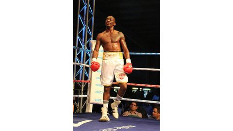 Nakathila turns down IBO world title shot