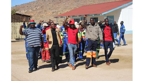 Tantalite retrenchments ruffle feathers