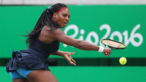 Serena hints at early return