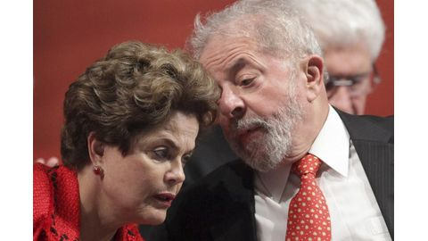 Former Brazilian presidents Lula and Rousseff charged